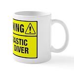 Warning: Newbie Diver Mug