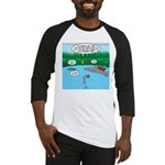 Rainy Days at Summer Camp Baseball Tee