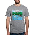 Rainy Days at Summer Camp Mens Tri-blend T-Shirt