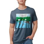 Rainy Days at Summer Camp Mens Tri-blend T-Shirt