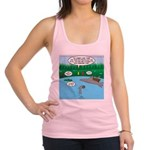 Rainy Days at Summer Camp Racerback Tank Top