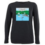 Rainy Days at Summer Cam Plus Size Long Sleeve Tee