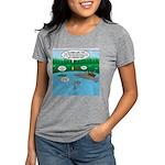 Rainy Days at Summer Camp Womens Tri-blend T-Shirt