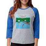 Rainy Days at Summer Camp Womens Baseball Tee