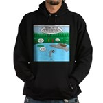 Rainy Days at Summer Camp Hoodie (dark)