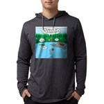 Rainy Days at Summer Camp Mens Hooded Shirt