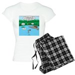 Rainy Days at Summer Camp Women's Light Pajamas