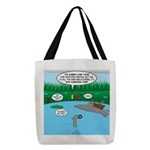 Rainy Days at Summer Camp Polyester Tote Bag