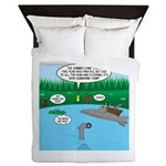 Rainy Days at Summer Camp Queen Duvet