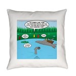 Rainy Days at Summer Camp Everyday Pillow