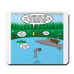 Rainy Days at Summer Camp Mousepad