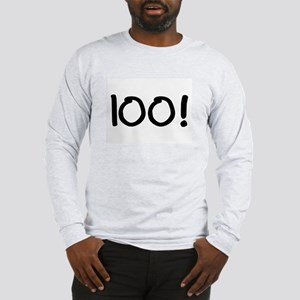 100 Long Sleeve T-Shirt
