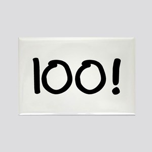 100 Rectangle Magnet