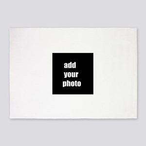 Personalize add your photo 5'x7'Area Rug