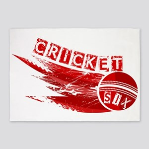 Cricket Sixer 5'x7'Area Rug