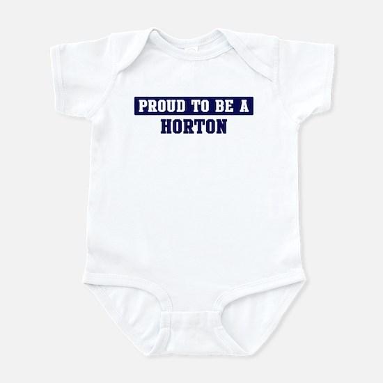 Proud to be Horton Infant Bodysuit