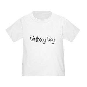 First Birthday Boy Toddler T Shirts