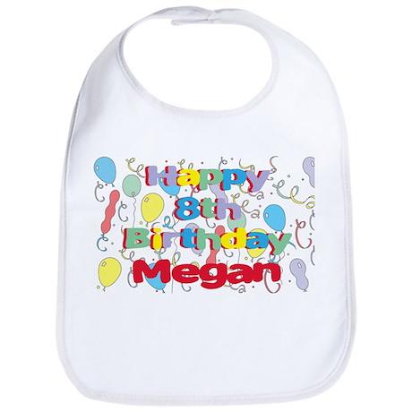 Megan's 8th Birthday Bib
