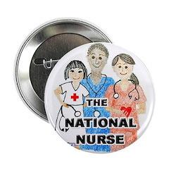 """The National Nurse 2.25"""" button"""
