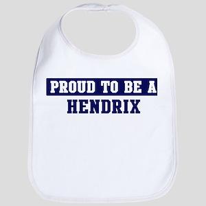 Proud to be Hendrix Bib