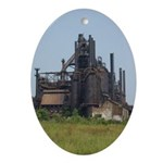 Blast Furnace Keepsake (Oval)