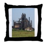 Blast Furnace Throw Pillow