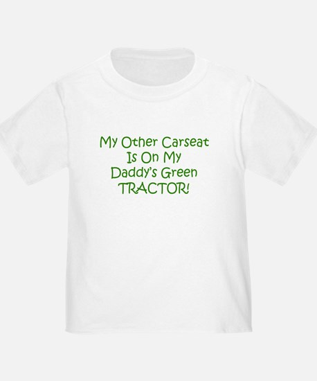 Carseat Daddys Green Tractor T