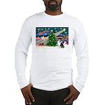 Xmas Magic & Collie Long Sleeve T-Shirt