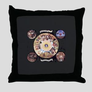 Bosch Throw Pillow