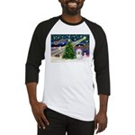Xmas Magic & Coton De Tulear Baseball Jersey