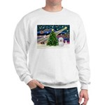 Xmas Magic & Coton De Tulear Sweatshirt