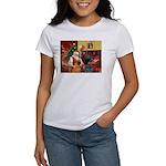 Santa's Shar Pei Women's T-Shirt