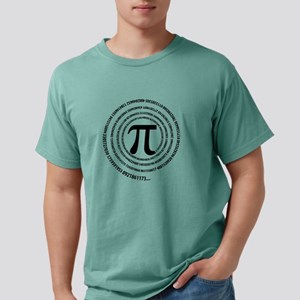 Pi Sign Spiral T-Shirt