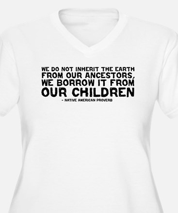 Quote - Native American - Children T-Shirt