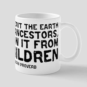 Quote - Native American - Children Mug