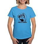 I HAS A FLAVOR - Women's Dark Cat T-Shirt