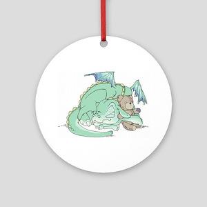 Baby Dragon Ornament (Round)