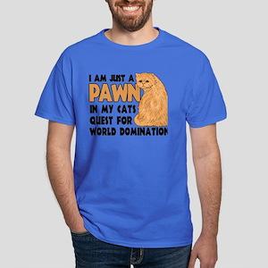 Cat's World Domination Dark T-Shirt