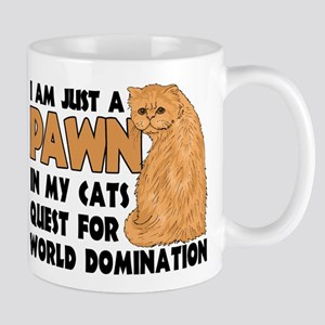 Cat's World Domination Mug