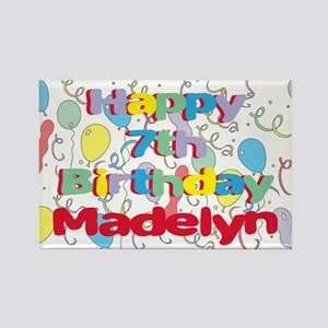 Madelyn's 7th Birthday Rectangle Magnet