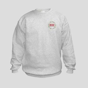 Mike Man Myth Legend Kids Sweatshirt