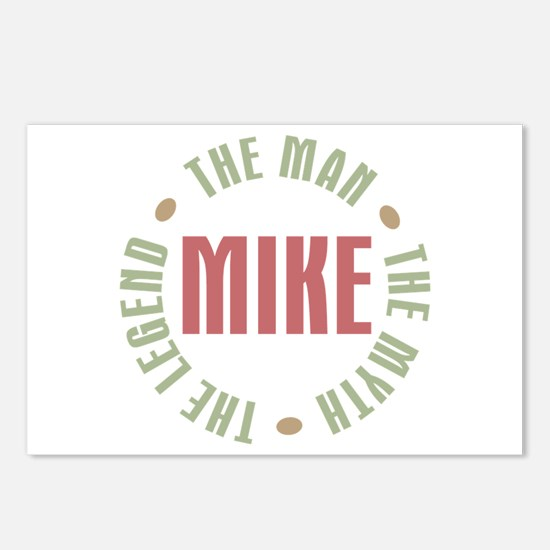 Mike Man Myth Legend Postcards (Package of 8)