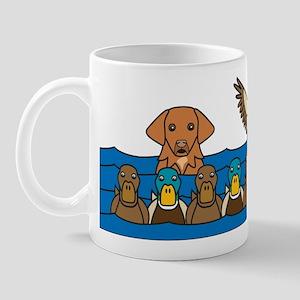 Toller in Ducks Mug