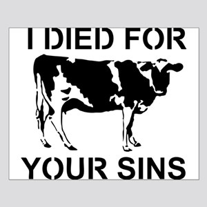 I Died For Your Sins Small Poster