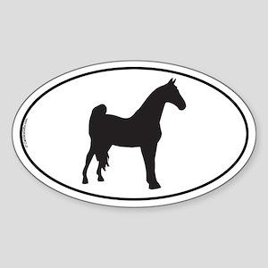 Tennessee Walking Oval Sticker