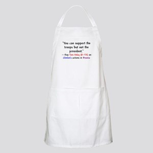 Tom Delay Quote on Clintons B BBQ Apron
