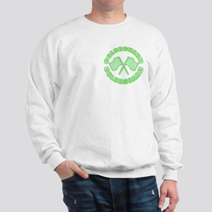 Vintage Colorguard Green Sweatshirt