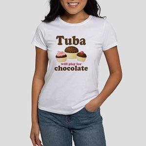 Funny Chocolate Tuba Women's T-Shirt