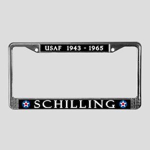 Schilling AFB License Plate Frame
