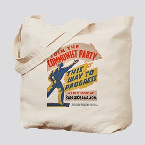 Join The Communists! Tote Bag